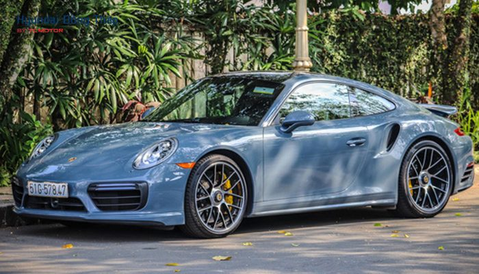 Đại gia cafe Trung Nguyên lại tậu Porsche 911 Turbo trị giá 15 tỷ đồng