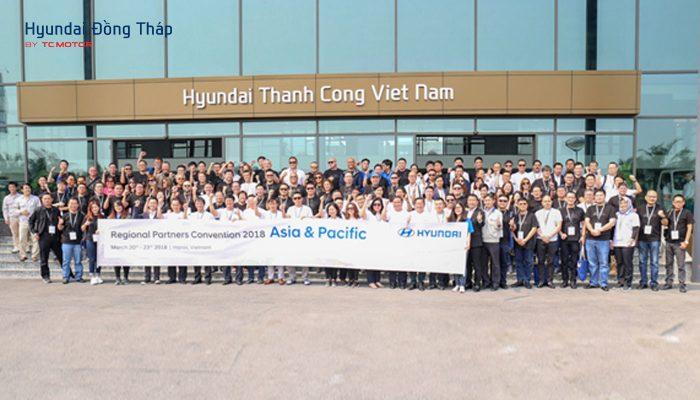 Các nhà phân phối Hyundai Châu Á – Thái Bình Dương tham quan nhà máy Hyundai Thành Công Ninh Bình