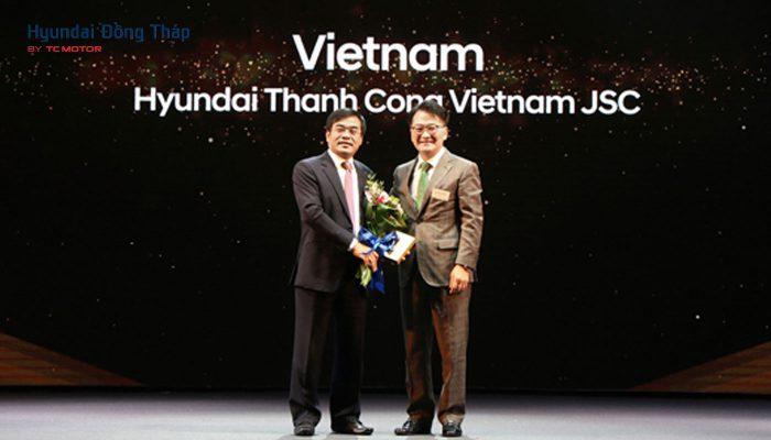 Hyundai Thành Công tiếp tục là nhà phân phối xuất sắc nhất khu vực Châu Á Thái Bình Dương