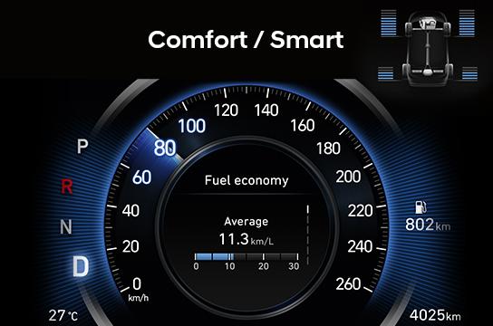 chế độ lai comfort smart
