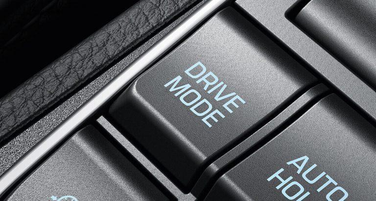 lựa chọn chế độ lái tự động tucson