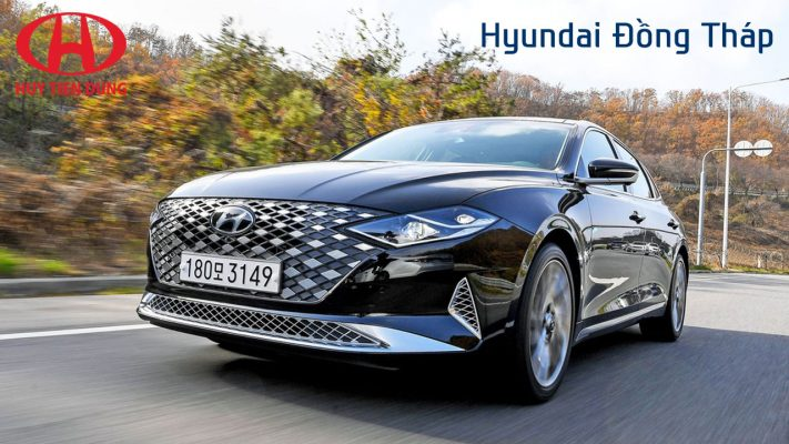 Cận cảnh mẫu sedan sang trọng nhất Hyundai Grandeur 2020